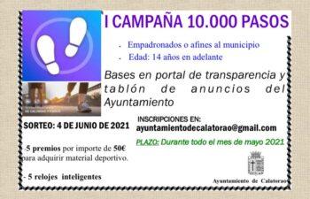I CAMPAÑA 10.000 PASOS